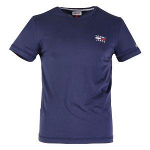 Tommy Hilfiger Herren T-Shirt Slim Fit Blau XL