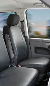 Walser Sitzbezüge für VW T6 Einzelsitz vorne aus Kunstleder ab BJ 07/2015 - heute, 11525