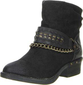 BULLBOXER Damen Stiefeletten schwarz, Größe:38, Farbe:Schwarz