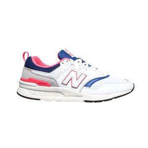 New Balance coole Sneaker Turnschuhe Weiß Schuhe, Größe:44