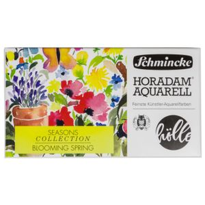 Schmincke Horadam Blooming Spring Seasons Collection Aquarellkasten 74 837 097