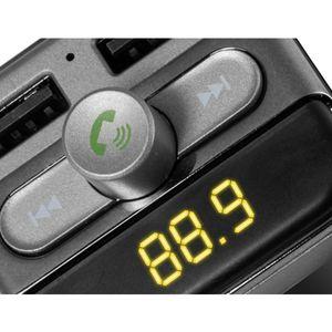 TECHNAXX Freisprechanlage Bluetooth FM-Transmitter FMT900BT, USB