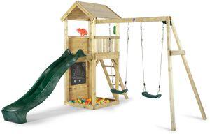 Plum Spielturm mit Doppelschaukel, 27551