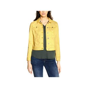 Street One Damen Jacke A211131 Yellow Soft Wash