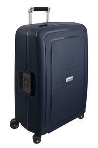 Samsonite S Cure DLX Spinner 69/29 Midnight Blue 509171549 Koffer mit 4 Rollen Hartschale