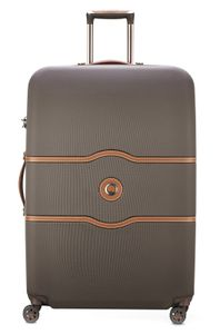 Delsey Chatelet Air XL Polycarbonat 4-Rollen Trolley Koffer 00 1672 821, Farbe:Chocolate