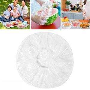 100 Stück Frischhaltebeutel Lebensmittel Abdeckung Verschlussbeutel Elastischer
