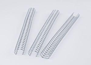 Binderücken Renz Ring Wire 3:1 6,9mm für 45 Blatt silber
