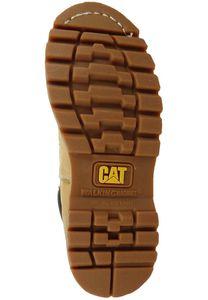 Caterpillar Echtleder Stiefel Colorado W Boots Beige Schuhe, Größe:39
