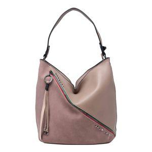 Tom & Eva Damen Tasche 1824 Hobo Bag Pink (rosa)