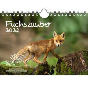 Fuchszauber DIN A5 Wandkalender für 2022 Fuchs und Füchse - Seelenzauber