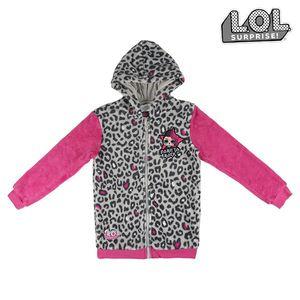 Sweatshirt mit Kapuze für Mädchen LOL Surprise! 74834 Grau Rosa 12 Jahre