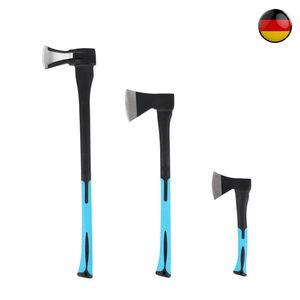 Axt Set Spaltbeil Spaltaxt Spalthammer Universalbeil Holzaxt  600g+1250g+2200g