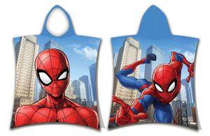 Marvel Spiderman Poncho - 50x115 cm mit KapuzeBunt