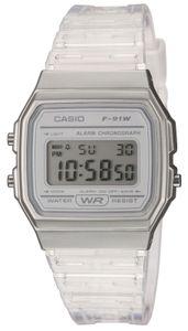 Casio Digitaluhr F-91WS-7EF Casio Collection Uhr Armbanduhr