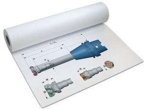 PAPYRUS Inkjet-Plotterrolle, 610 mm x 50 m, weiß, Menge: 1 (Neu)