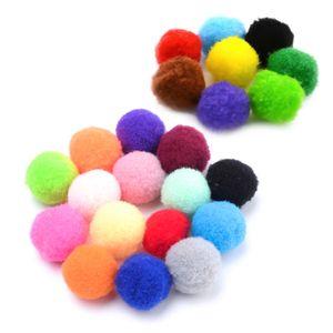 100 Pompons 15mm kreativ zum Basteln unterschiedliche Farben oder Farbmix, Farbe:Farbmix 1