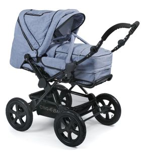 Chic 4 Baby Kombi Viva Kinderwagen Jeans hellblau