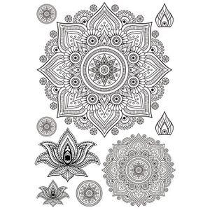 Aufbügler A4 - Mandala