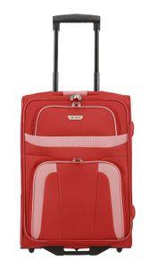Travelite Orlando 2-Rollen Kabinentrolley S rot 9848710 mit 2 Rollen Koffer