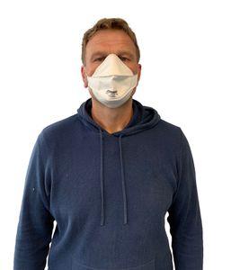 500 Stück FFP2 Maske Atemschutzmaske,  Mundschutzmaske Maske Hygieneschutz Hinterkopf-Befestigung
