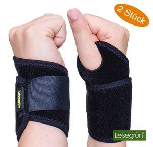 Handgelenkbandagen Sport Handgelenkbandage mit Klettverschluss Fitness Training