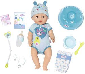 Zapf 826072 - BABY born - Soft Touch - Puppe mit Zubehör, 43 cm, Boy