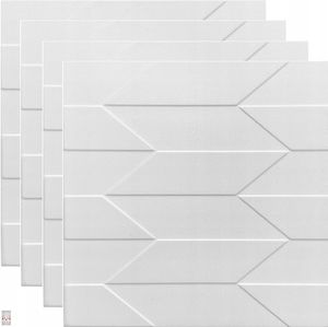 (!!! Sparpaket 25 qm / 100 Stück !!!) 3D Wandpaneele Wandverkleidung Deckenpaneele Platten Paneele  Polystyrol XPS