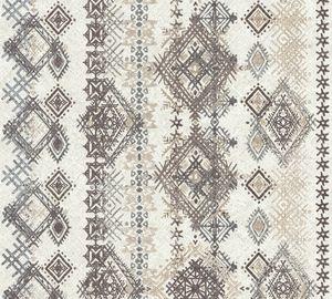 A.S. Création Vliestapete Boho Love Tapete grau beige schwarz 10,05 m x 0,53 m 364662 36466-2