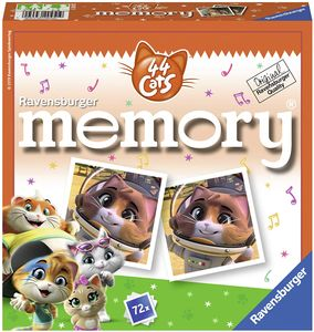 CYE 20451 - 44 Cats memory, der Spieleklassiker fr alle Fans der TV-Serie 44 Cats, Merkspiel fr 2-8 Spieler ab 4 Jahren