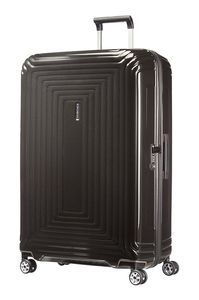 Samsonite Neopulse Spinner 81cm Metallic Black 657561541 Koffer mit 4 Rollen Hartschale