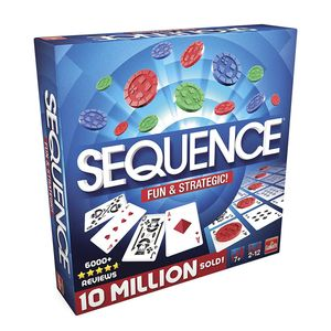 Sequence Spiel Brettspiel Gesellschaftsspiel