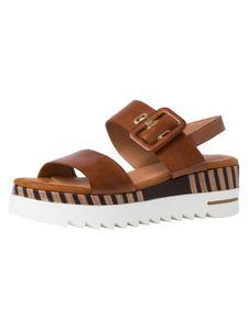 Marco Tozzi Damen Sandalette FEEL+Leather, MT by GMK F-Weite Größe: 38 EU