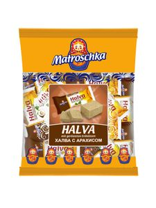 """Matroschka """"Halva"""" Weiches Erdnusskonfekt 250g"""