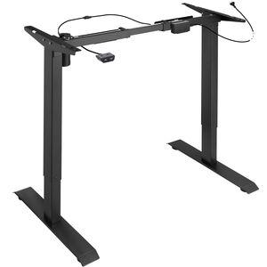 tectake Tischgestell elektrisch höhenverstellbar - schwarz