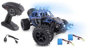 RC-Buggy OVERMAX X-FLASH RTR 1:18 Allrad ferngesteuerter Monstertruck 45 km/h mit LED