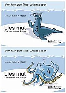 Lies mal - Hefte 3 und 4 (Paket): Vom Wort zum Text - Anfangslesen