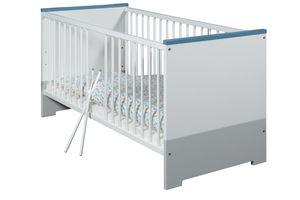 Schardt Kombi-Kinderbett Candy Blue 70x140 cm