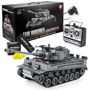 Ferngesteuerter RC Tiger Panzer - Modellbau R/C Panzer 1:16 Maßstab