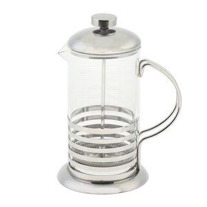 French Press Kaffeebereiter Kaffeekanne Kaffeepresse aus Borosilikatglas 600 ml, 2 Typen Optional Stil 2 wie beschrieben