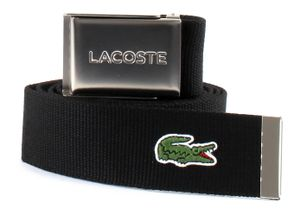 LACOSTE Casual Woven Strap W90 Black - kürzbar