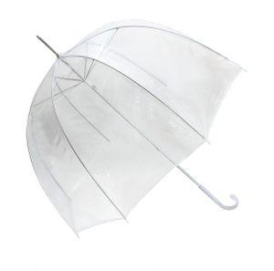 Regenschirm Transparent  Durchsichtig Glockenschirm