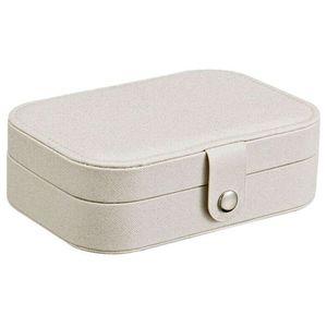 Mllaid Iusun Schmuck Aufbewahrungsbox Ohrring Ring Display Kosmetik Platzsparend Rack Dressing Desktop Container Supplies Organizer Dekoration Schulbedarf Büro Home