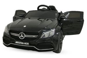 Lizenz Mercedes C63 AMG Schwarz