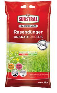 SUBSTRAL® Rasendünger UNKRAUT bleibt chancenLOS 9,1 kg für ca. 180 m²