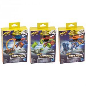 3er Set Nerf Nitro Fantasieszene Flamefury Barrelslam Sparksmash mit Soft Racer