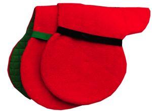 Satteldecke Cottage Craft wendebar  Cottage Craft Satteldecke wendebar, Farbe:rot-gruen