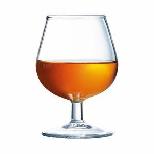 Arcoroc ARC 01484 Degustation Cognacschwenker, Cognacglas, 150ml, Glas, transparent, 12 Stück