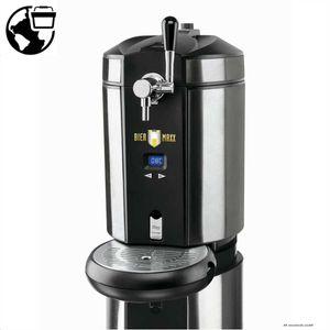 Biermaxx 05581 Bierzapfanlage mit 3x CO2 Kapseln und Kühlung ; Maße ca.: 41,5 x 28 x 42 cm