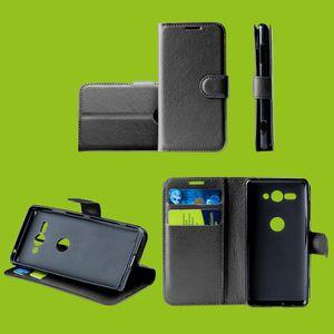 Für Xiaomi Redmi Note 9 Handy Tasche Wallet Premium Schwarz Schutz Hülle Case Cover Etuis Neu Zubehör